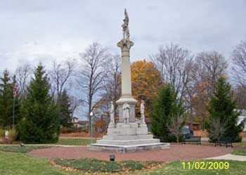 Civil War Memorial Dowagiac, Cass County, MI