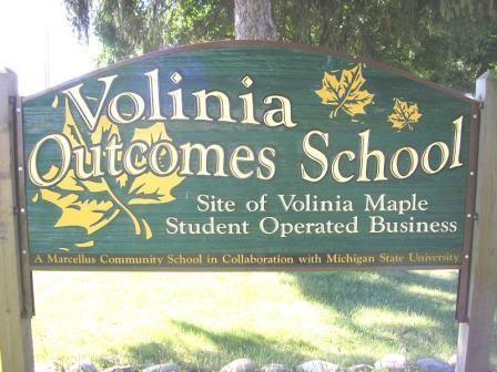 Volinia Outcomes School Project, Marcellus Schools, Cass County, MI
