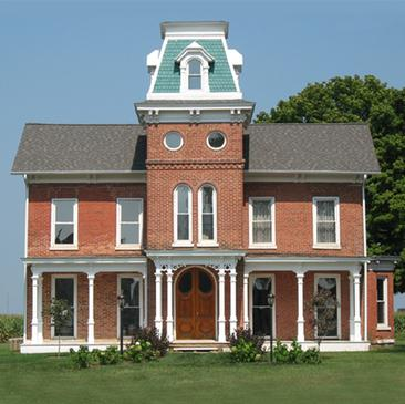 Bonine House, Vandalia, Cass County, MI