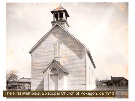 Old Rugged Cross Church of Pokagon, Cass County MI