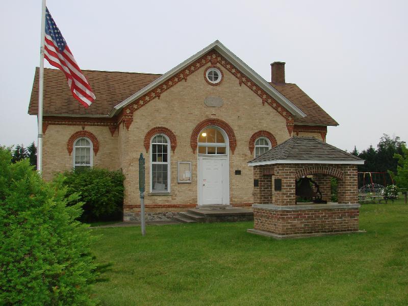 Mason Distric Schoolhouse, Mason Township, Cass County, MI