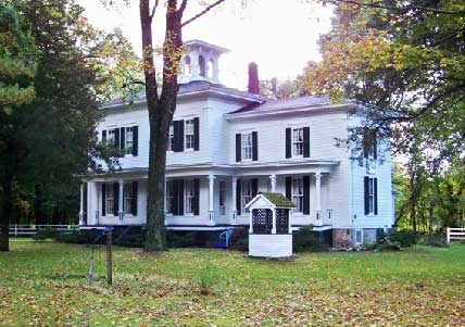 George Newton Historical home/museum, Marcellus. Cass County, MI