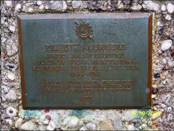 Picketts Corners Memorial Marker, Cass County, MI