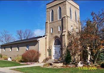 Historic First Presbyterian Church in Edwardsburg, Cass County MI