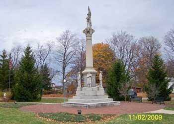 Civil War Memorial Dowagiac, Cass County, MI
