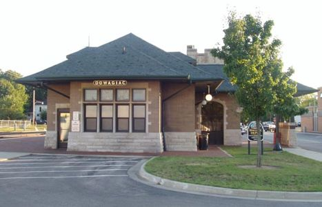 Dowagiac Train Station, Cass County MI