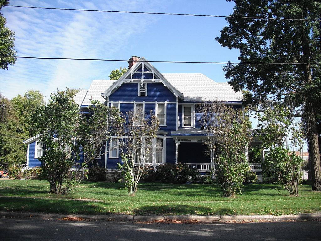 Historic GW Jones House, Marcellus, Cass County, MI
