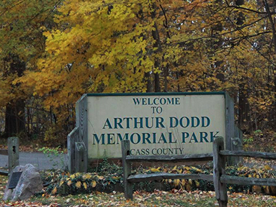 Arthur Dodd Memorial Park, Cass County, MI