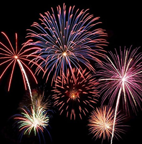 2018 Diamond Lake Fireworks