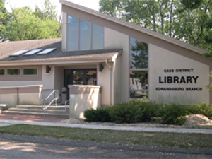 Cass District Library Edwardsburg Branch, Cass County, MI