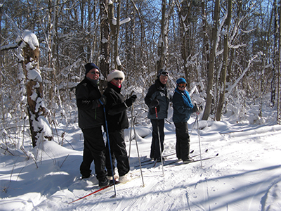 Cross-country ski or snowshoe Cass County Michigan Parks