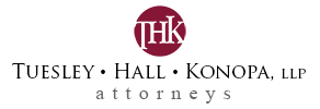 Tuesley Hall Konopa LLP full-service lawfirm, South Bend, Elkhart, Cassopolis