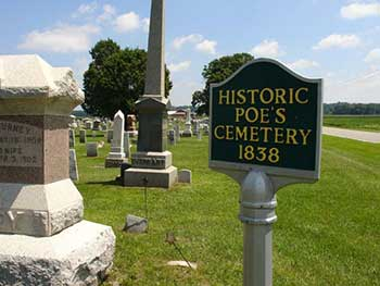 Historic Poe's Cemetery, Jones, MI Cass County