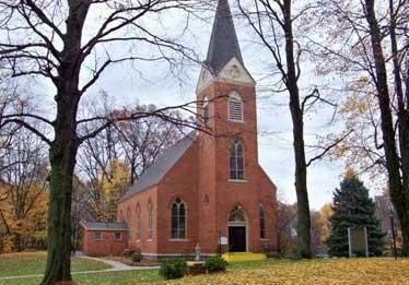 Sacred Heart of Mary Catholic Church, Dowagiac, Cass County, MI