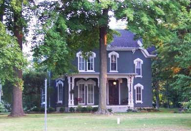 Historic Sylvador T. Read House, Cassopolis, Cass County, MI