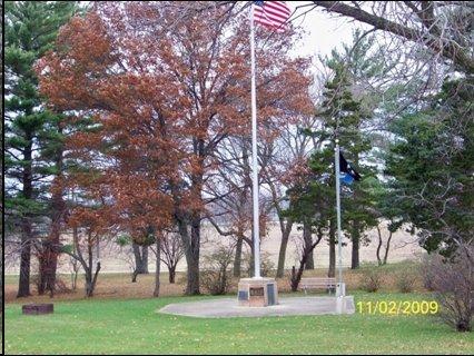 Cass County Michigan Veterans Memoriral Park Marker, Cassopolis, Cass County, MI
